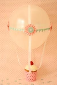 Helium Balloon Cupcakes