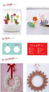 martha holiday crafts